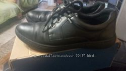 Школьные кожаные  туфли для мальчика 39 размер