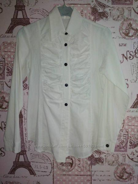 Школьная блузка с поясом