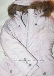Срочно Зимняя куртка девочке 9-10 лет
