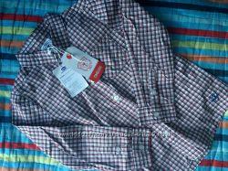 Новая рубашка фирмы Chicco 122р