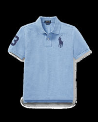Ralph lauren Cotton Mesh Polo Shirt Оригинал Размер L 14-16 лет