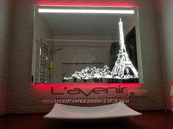 Зеркало Аква Родос Париж 800 новое