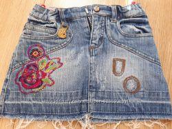 Джинсовая юбка  Pampolina   рост 92