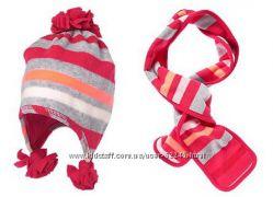 Комплект Crazy8 - новые шапка-шарфик, размер 7-8 лет