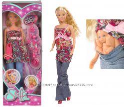 Кукла Штеффи беременная Pregnant doll Simba оригинал