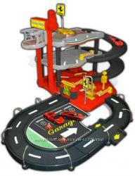 Гараж Ferrari 3 уровня, 2 машинки - Bburago 18-31204