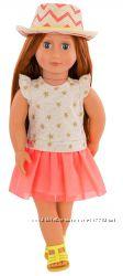 Большая кукла Клементина в шляпе Our Generation, 46 см