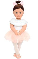 Большая кукла Our Generation Балерина Валенсиа, 46 см