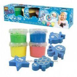 Набор для игры в ванной - Гуашь со штампами SES
