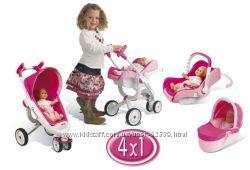 Трехколесная коляска Maxi-Cosi Quinny 4в1 - Smoby 550389