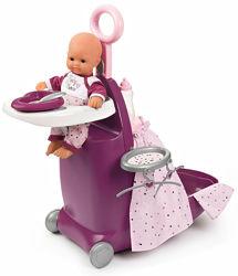 Раскладной чемодан для куклы Baby Nurse Прованс, арт. 220346 Smoby