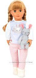 Большая кукла Яви в пижаме с кроликом Our Generation