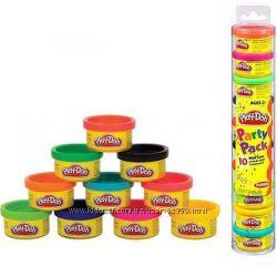 Набор Play-Doh для праздника в тубусе, 10 баночек Hasbro 22037