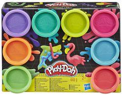 Масса для лепки Play Doh Неон, Hasbro E5063
