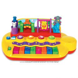 Пианино Зверята на качелях Kiddieland 033423