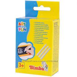 Белые мелки для рисования Simba