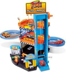 Паркинг 3 уровня, 2 машинки - Bburago 18-30361