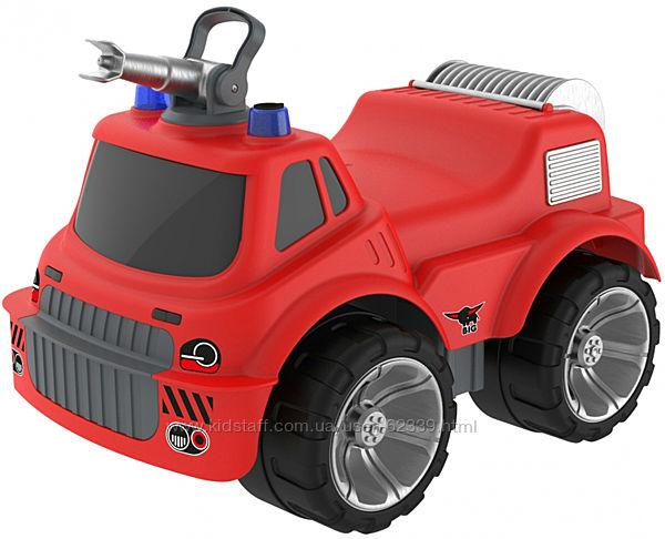 Пожарная машинка-каталка с водным эффектом Big, арт. 0055815