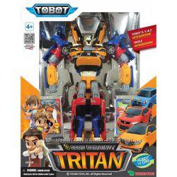 Робот Трансформер Тобот Тритан с карточками - Tobot Young Toys 301006