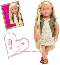 Большая кукла Пиа с длинными волосами Our Generation, 46 см