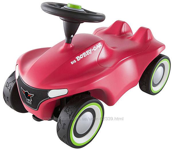 Машинка-каталка Big Bobby Car Нео, розовая