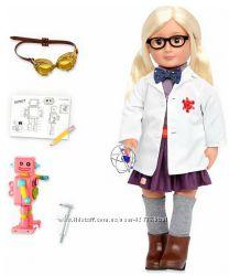 Большая кукла Амелия в костюме доктора Our Generation, 46 см