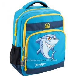 Школьный рюкзак с акулой - GoPack GO18-113M-2
