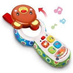 Развивающая игрушка-телефон Отвечай и играй VTech, русский язык