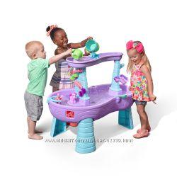Стол для игры с водой Rain Showers and Unicorns Step2