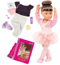Большая кукла балерина Сидней Ли Our Generation, 46 см
