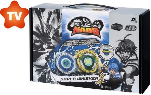 Волчок Infinity Nado Super Whisker серии Crack Крэк - Небесний Вихор