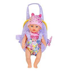 Рюкзак-кенгуру для куклы Baby Born Комфортная прогулка, арт. 828038