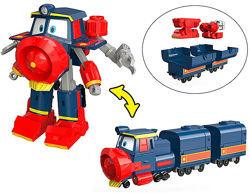 Поезд-трансформер Виктор с вагонами Robot Trains - арт. 80186