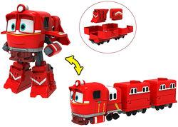 Поезд-трансформер Альф с вагонами Robot Trains - арт. 80185