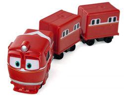 Паровозик Альф с вагонами Deluxe Robot Trains, арт. 80180