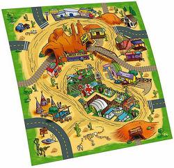 Игровой коврик для машинок Majorette - с машинкой, 2 вида