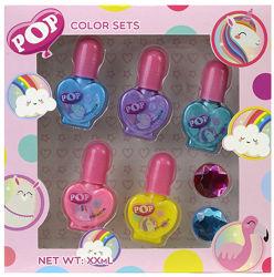 Набор лаков для ногтей серии POP - Markwins 1539006E