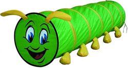 Игровая палатка-тоннель Зеленая Гусеница Bino, арт. 82805