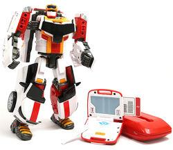 Трансформер Тобот V S4 с ключом, звук и свет, 3 трансформации, арт. 301048