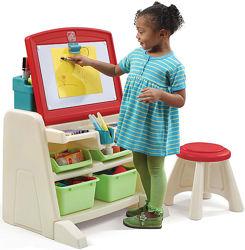 Стол для творчества с доской Flip & Doodle - Step2 836500