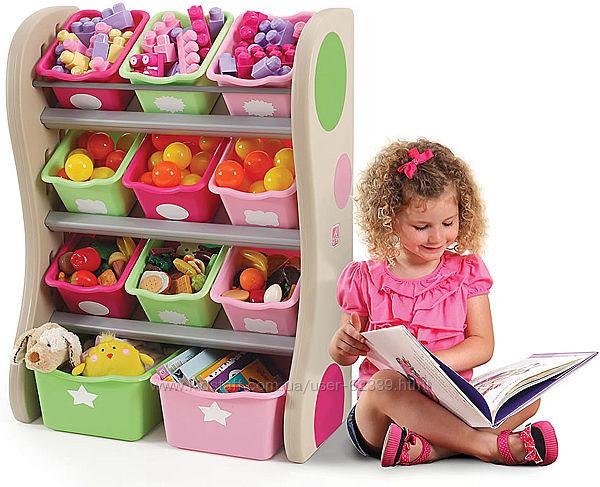Органайзер с ящиками для игрушек Fun Time Room Organizer - Step2 827400