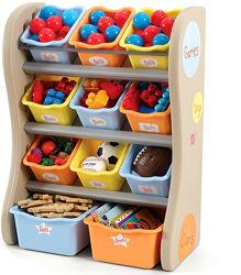 Органайзер с ящиками для игрушек Fun Time Room Organizer - Step2 728900