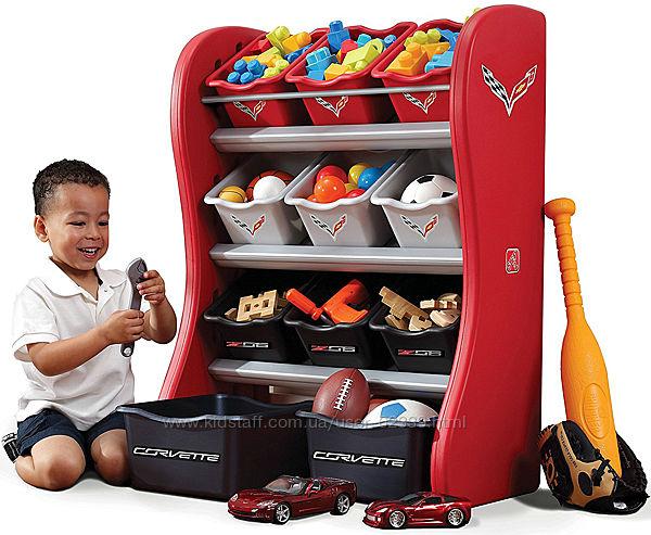 Органайзер с ящиками для игрушек Corvette Room Organizer - Step2 824000
