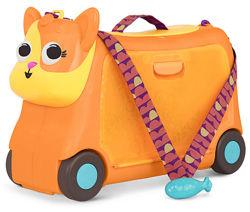 Детский чемодан-каталка для путешествий Котик-Турист Battat, арт. LB1759Z