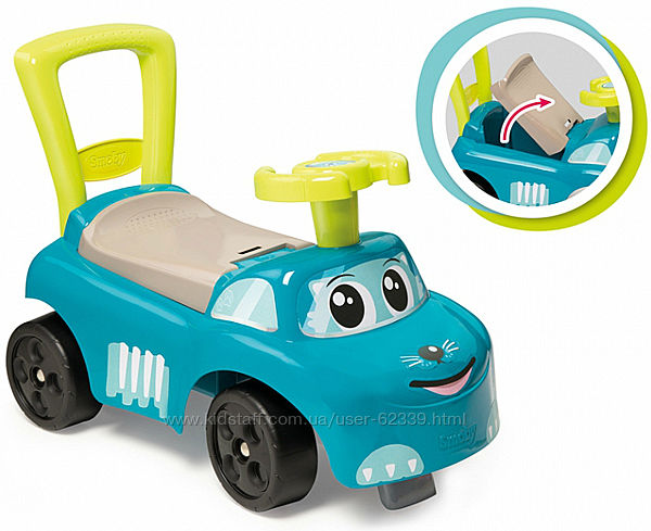 Машинка-каталка Морской котик Smoby, арт. 720525