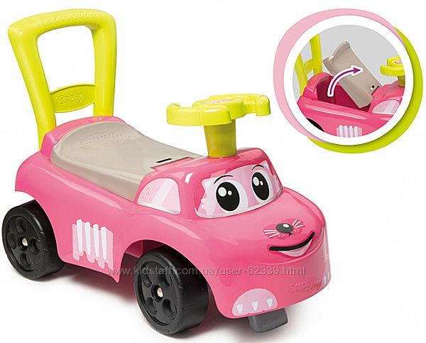 Машинка-каталка Розовый котик Smoby, арт. 720524