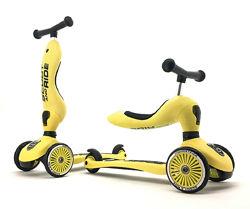 Самокат-беговел Highwaykick-1 Scoot and Ride, лимонный