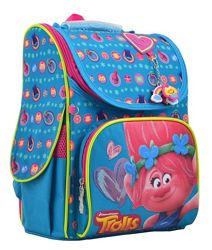 Каркасный рюкзак 1 вересня H-11 Trolls turquoise Тролли 555162