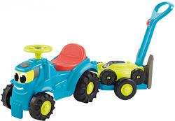 Машинка Гарден с прицепом и газонокосилкой Ecoiffier, арт. 004350