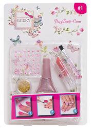 Набор для дизайна ногтей Дизайн Сет, розовый - арт. T16787